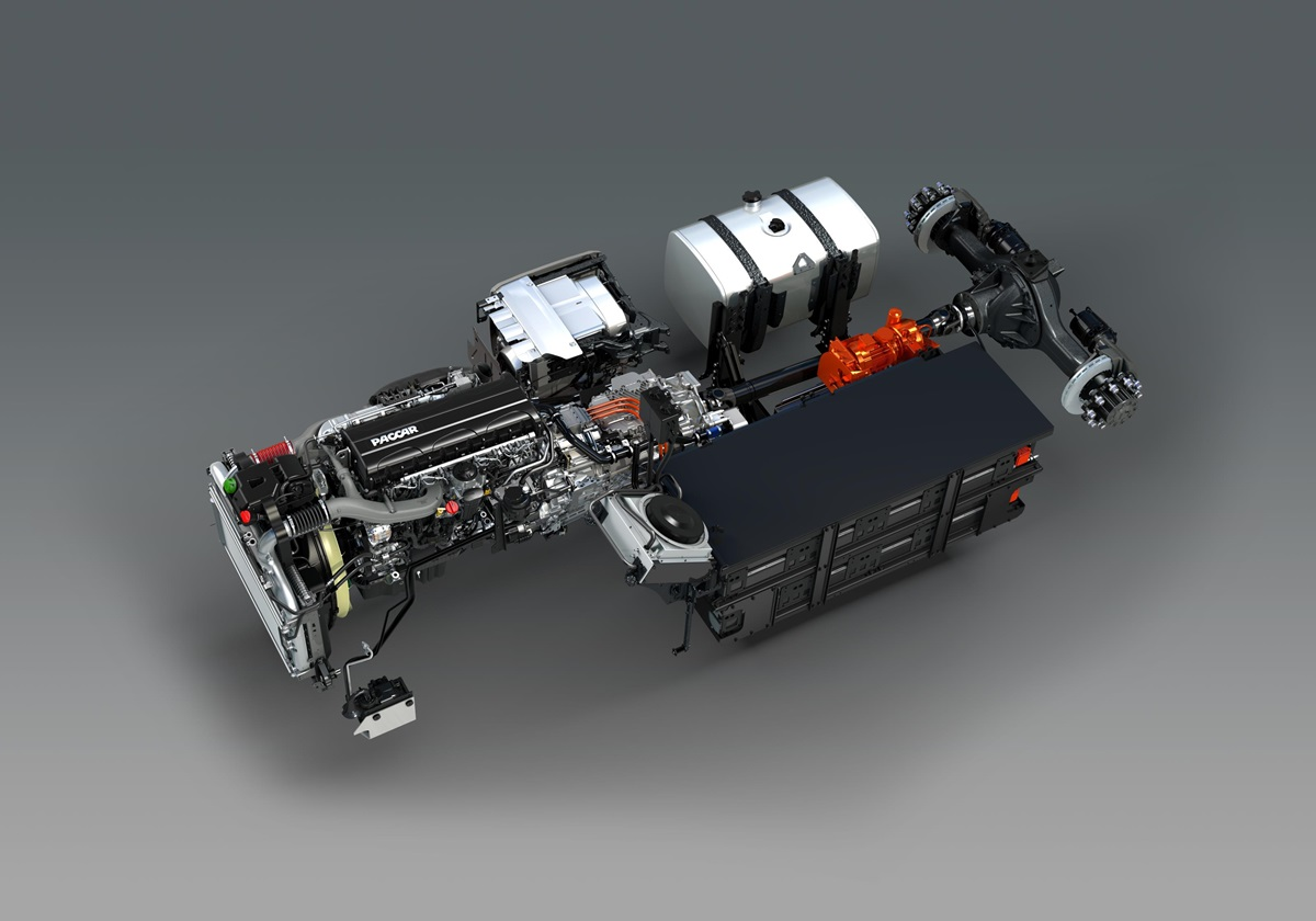 DAF-CF-Hybrid-Driveline